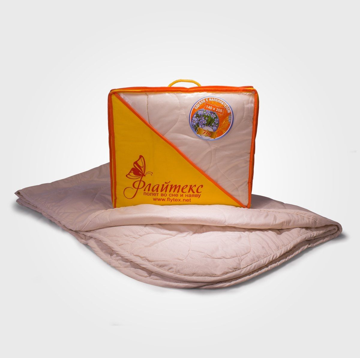 Одеяло коллекции FLY (льняное волокно, облегченное)
