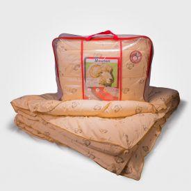 Одеяло коллекции Премиум (овечья шерсть, зимнее) 100% хлопок