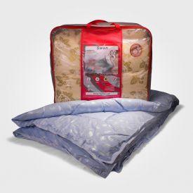 Одеяло коллекции Премиум (лебяжий пух, зимнее) 100% хлопок